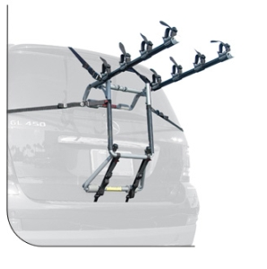 Allen Premium 4 Bike Trunk Mounted Carrier 104S Allen Premium 4 Bike Trunk Mounted Carrier 104S