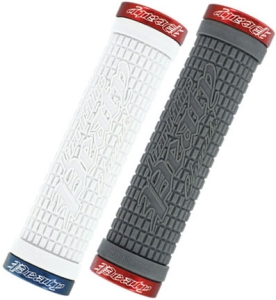 Lizard Skins Peatey LockOn Grips Graphite/Red