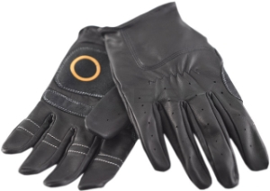 Knog Strangler Leather Full Finger Gloves Large