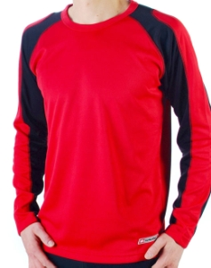 Bellwether Action T Jersey LongSleeve Cardinal Red Medium