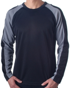 Bellwether Action T Jersey LongSleeve Black Medium