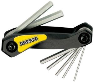 Buy Pedro's Folding Hex Wrench Set 1.5-6mm - Pedro's Folding Hex Wrench Set 1.5-6mm (Tools, Hex Wrenches, Pedros)