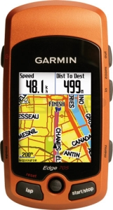 Garmin Edge 705 GPS Team Garmin Bundle with Street Maps