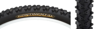 Continental Spike Claw 26 x 2.1 Black Tire 120 Studs Continental Spike Claw 26 x 2.1 Black Tire 120 Studs