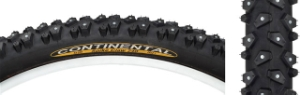 Continental Spike Claw 26 x 2.1 Black Tire 240 Studs Continental Spike Claw 26 x 2.1 Black Tire 240 Studs