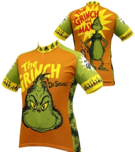 Retro Image The Grinch Jersey XLarge
