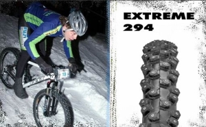 Nokian Extreme 294 26 x 2.1 Studded Tire Nokian Extreme 294 26 x 2.1 Studded Tire