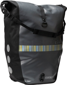 Civia Waterproof Rear Pannier by Ortlieb Civia Waterproof Rear Pannier by Ortlieb