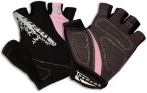 Buy Serfas Women's Short Finger Gloves - Black/Lime - X-Small (Cycling Clothing, Gloves, Serfas)