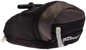 Buy Serfas MTB-1Q Small Expandable Bag w/ Quick Release Mount - Black (Bags, Seat Bags, Serfas)