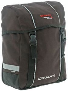 Axiom Side Kick Single Side Rear Pannier Black / Silver