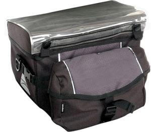 Axiom Shuttle Odyssee QR Handlebar Bag Black/Gray