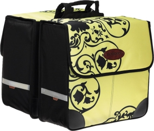 Axiom Gatherer Shopper Pannier Set Yellow Floral Axiom Gatherer Shopper Pannier Set Yellow Floral
