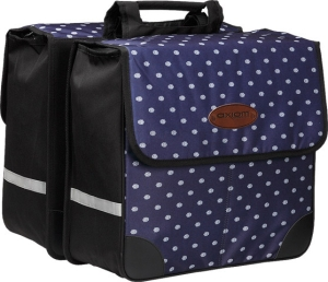 Axiom Gatherer Shopper Pannier Set Navy Print Axiom Gatherer Shopper Pannier Set Navy Print