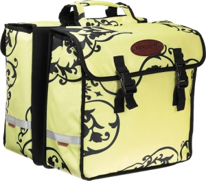Axiom Urban Shopper Pannier Set Yellow / Black