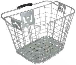 Axiom 6061 Alloy QR Front Basket Silver