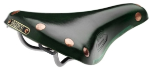 Brooks Finesse Titanium Rail Saddle Honey