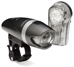 Planet Bike Blaze 1 Watt & Superflash Light Set Planet Bike Blaze 1 Watt & Superflash Light Set