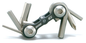 Topeak Mini 6 Folding Tool Topeak Mini 6 Folding Tool
