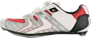 Pearl Izumi Men's Elite Road Shoe Size 43 White/True Red