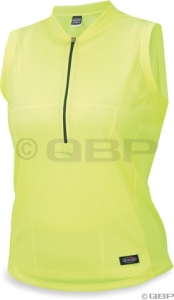 Mt. Borah Women's Sleeveless Micro Jersey Neon Yellow XLarge