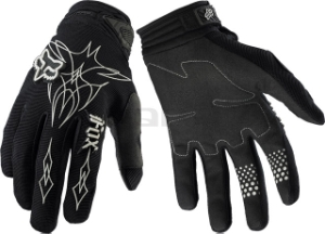 Fox Racing Men's Dirtpaw Empire Gloves Fox Dirtpaw Glove Empire Black LG