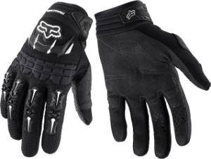 Fox Racing Men's Dirtpaw Gloves Fox Racing Men's Dirtpaw Glove Black LG