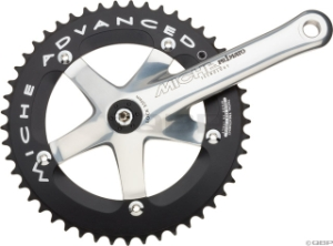Miche Advanced Track Cranksets Miche Advanced Track Crank 165mm with 49t Ring