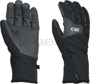 Outdoor Research Storm Tracker Glove: Black/Charcoal - MD
