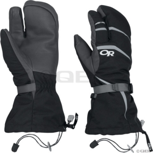 Outdoor Research Highcamp 3-finger Gloves Black - S