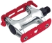 Product image of All-City Standard Track Pedals Red