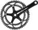 Campagnolo Veloce Crankset 175 50-34 Black Power-Torque 10 Speed; Bottom Bracket Not Included
