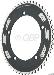 FSA Pro Track 50t x144mm Black Chainring 1/2x1/8
