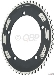 FSA Pro Track 51t x144mm Black Chainring 1/2x1/8