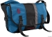 Timbuk2 D-Lux Messenger Bag: Blue/Black/Gunmetal ; MD