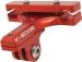 K-Edge GO BIG GoPro Camera Saddle Rail Mount: Red