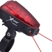 XFire Bike Lane Safety Light with Laser Lane Markers