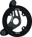 MRP S4 Guide 32-36T Black BB Mount