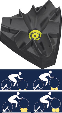 CycleOps Riser Climbing Block CycleOps Climbing Block